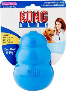 KONG Licencia kc840 20 Juguete, Azul, XL